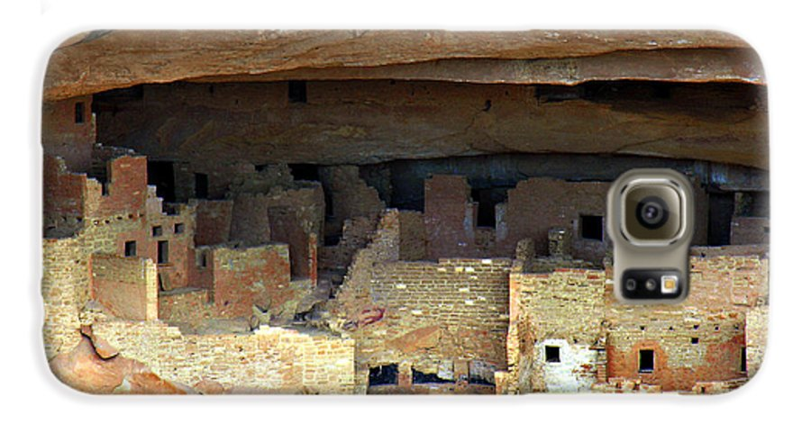 Americana Galaxy S6 Case featuring the photograph Mesa Verde by Marilyn Hunt