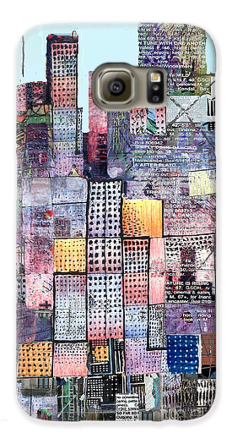 Metro Galaxy S6 Case featuring the digital art Metropolis 3 by Andy Mercer