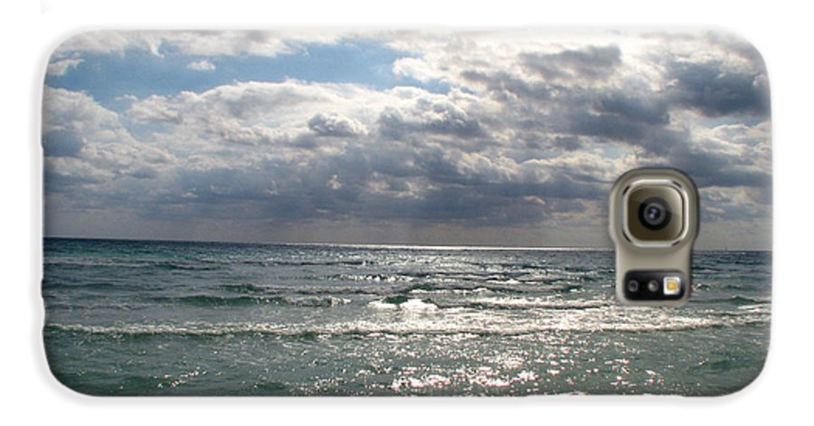 Miami Galaxy S6 Case featuring the photograph Miami Beach by Amanda Barcon