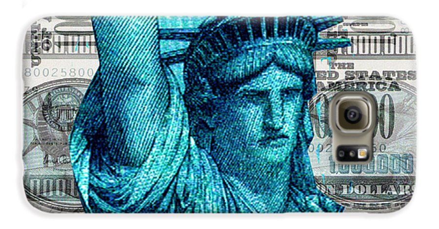Millions Galaxy S6 Case featuring the digital art Million Dollar Pile by Seth Weaver