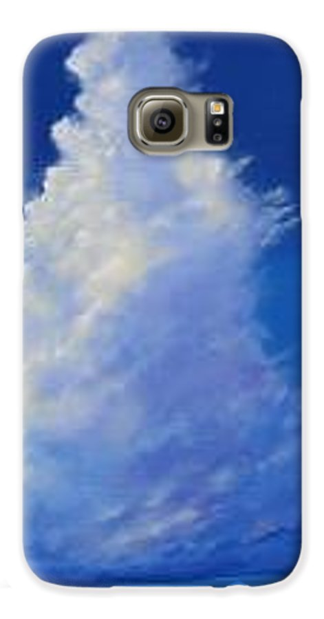 Clouds Galaxy S6 Case featuring the painting Minor Earth Major Sky by Hunter Jay
