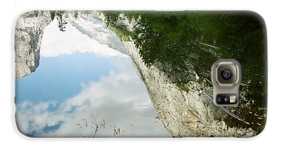 Mirror Lake Galaxy S6 Case featuring the photograph Mirrored by Kathy McClure