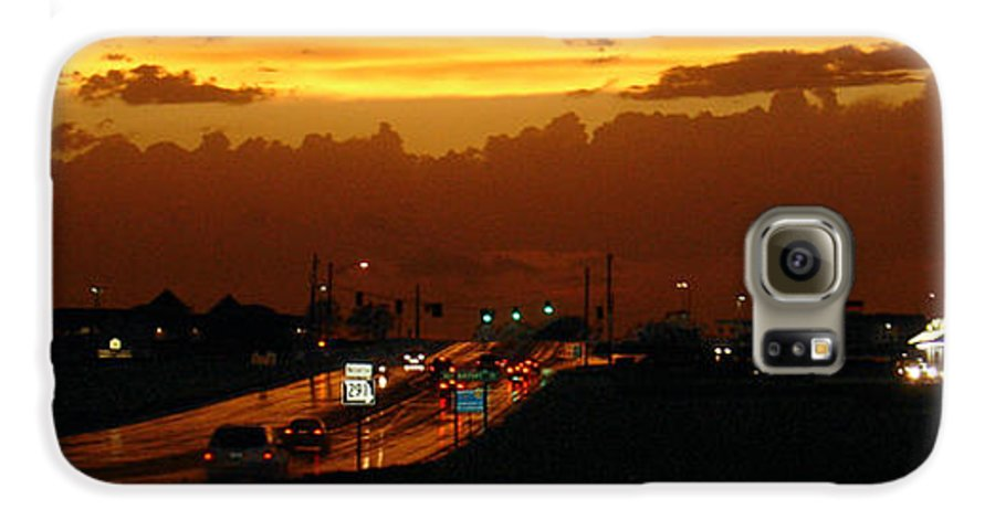 Landscape Galaxy S6 Case featuring the photograph Missouri 291 by Steve Karol
