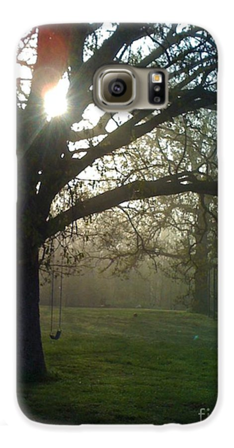 Mist Galaxy S6 Case featuring the photograph Misty Morning by Nadine Rippelmeyer