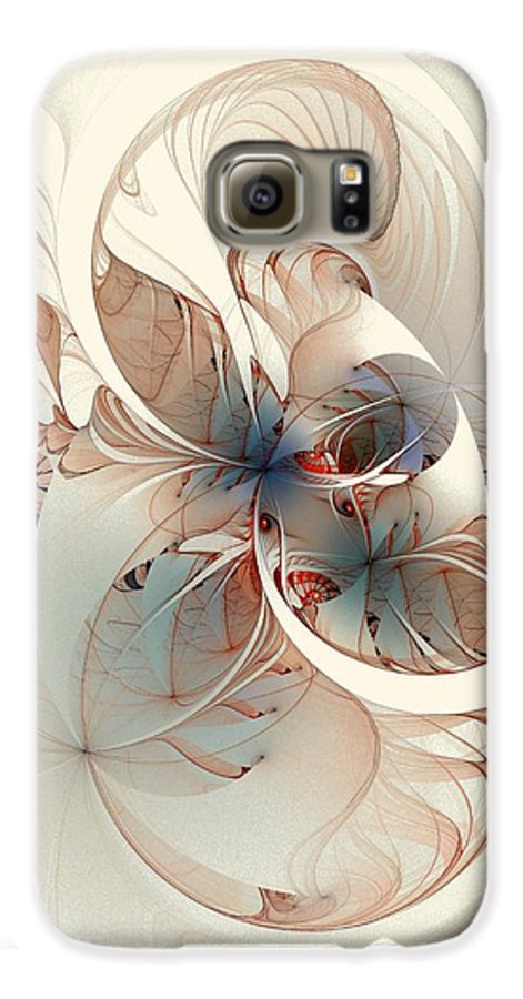 Galaxy S6 Case featuring the digital art Mollusca by Amanda Moore