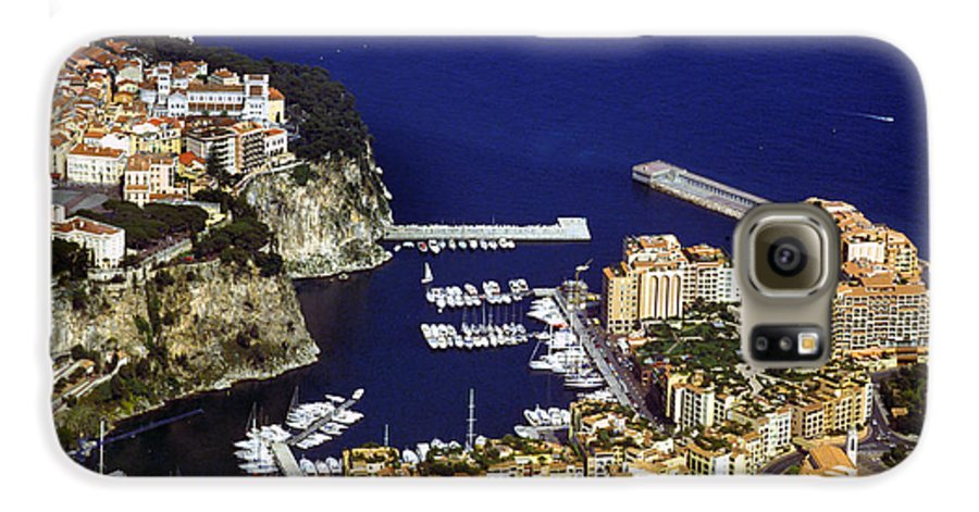 Rich Galaxy S6 Case featuring the photograph Monaco On The Mediterranean by Carl Purcell