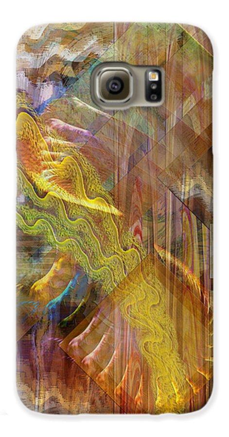 Morning Dance Galaxy S6 Case featuring the digital art Morning Dance by John Beck