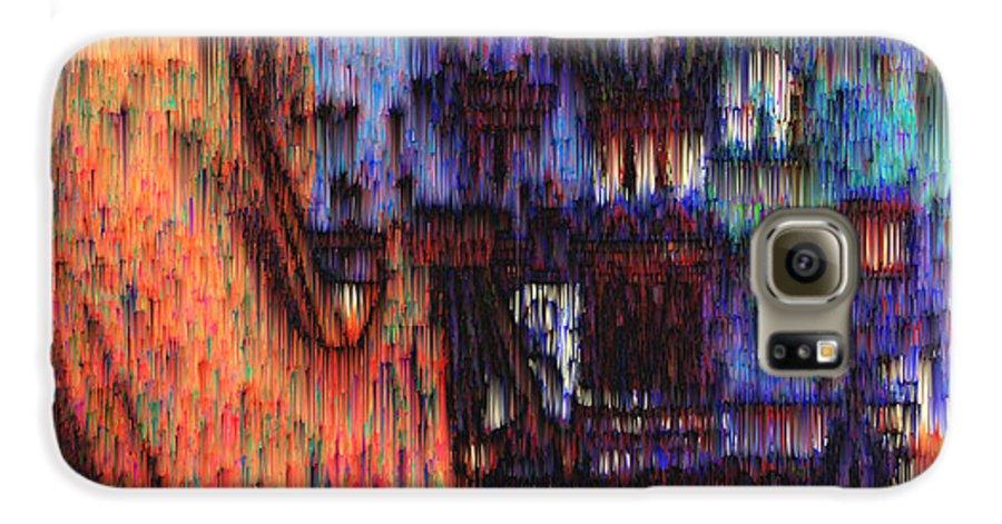 Fog Galaxy S6 Case featuring the digital art Moscow In The Rain by Seth Weaver