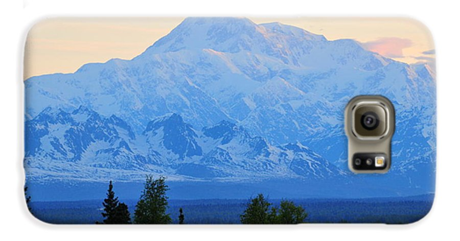 Mount Mckinley Galaxy S6 Case featuring the photograph Mount Mckinley by Keith Gondron