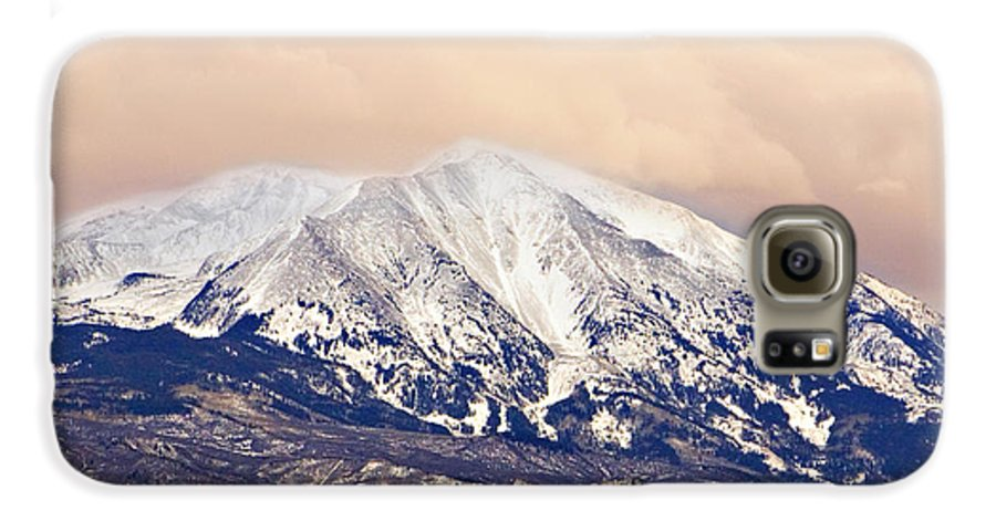 Americana Galaxy S6 Case featuring the photograph Mount Sopris by Marilyn Hunt