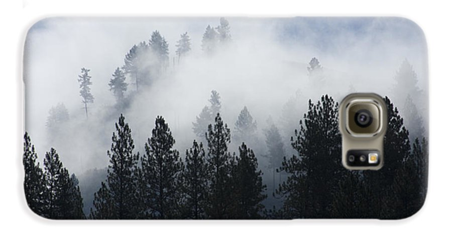 Fog Galaxy S6 Case featuring the photograph Mountain Mist by Idaho Scenic Images Linda Lantzy