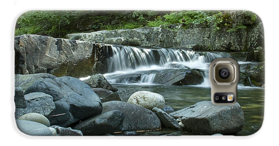 Stream Galaxy S6 Case featuring the photograph Mountain Stream by Idaho Scenic Images Linda Lantzy