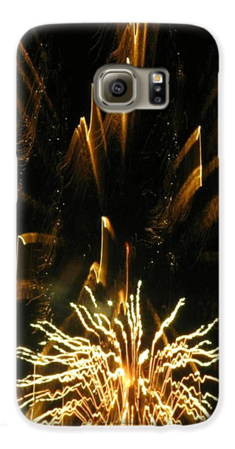 Fireworks Galaxy S6 Case featuring the photograph Music To My Eyes by Rhonda Barrett