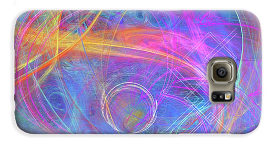 Mystic Beginning Galaxy S6 Case featuring the digital art Mystic Beginning by John Beck