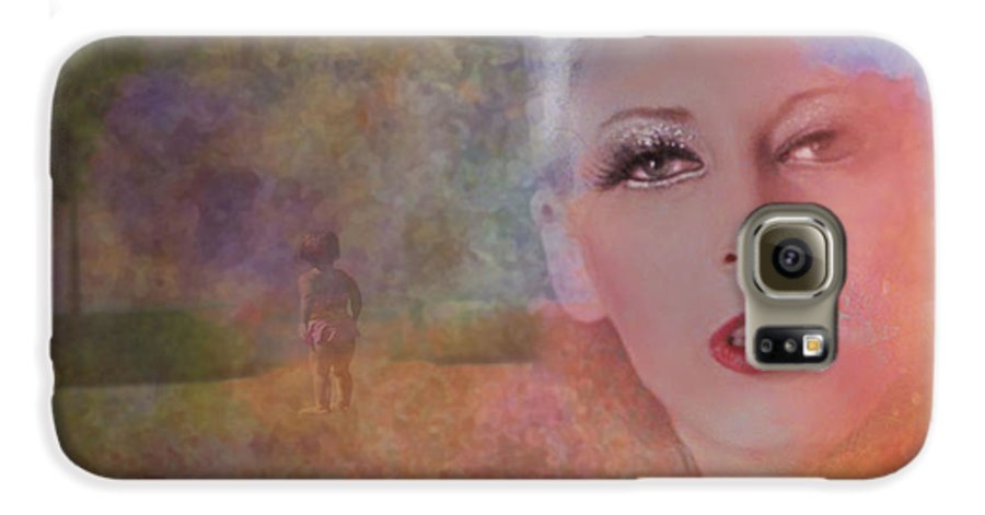 Woman Galaxy S6 Case featuring the photograph Mystic Woman by Jeff Burgess