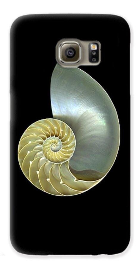 Slanec Galaxy S6 Case featuring the photograph Nautilus Nr.1 by Christian Slanec
