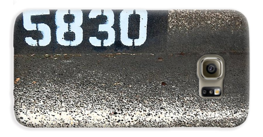 Numbers Galaxy S6 Case featuring the photograph Numbers by Debbi Granruth