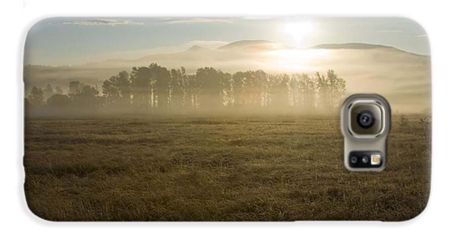 Atmosphere Galaxy S6 Case featuring the photograph October Atmosphere by Idaho Scenic Images Linda Lantzy