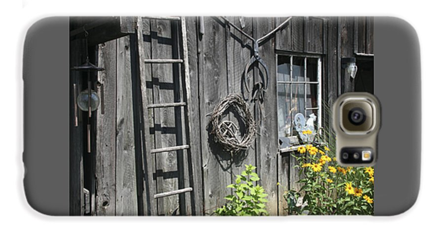 Barn Galaxy S6 Case featuring the photograph Old Barn II by Margie Wildblood