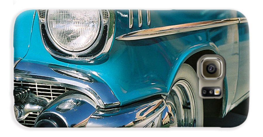 Chevy Galaxy S6 Case featuring the photograph Old Chevy by Steve Karol