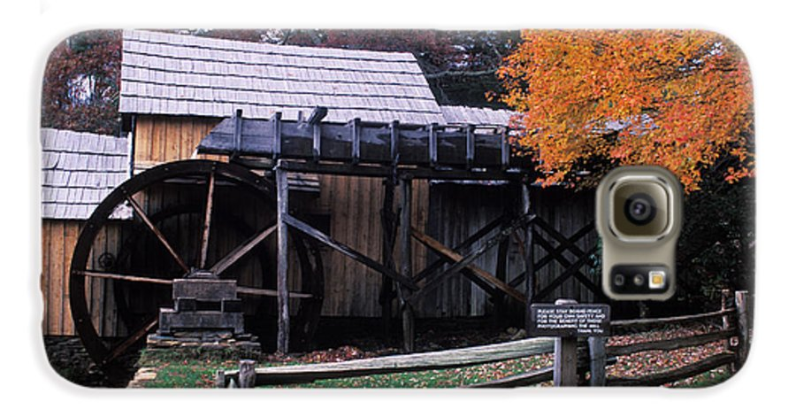 Waterwheel Galaxy S6 Case featuring the photograph Old Mill In Virginia by Carl Purcell