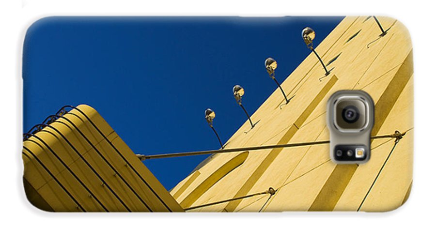 Electric Galaxy S6 Case featuring the photograph Old School Vegas by Skip Hunt