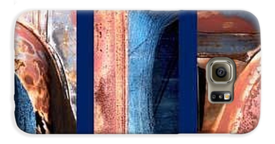 Abstract Galaxy S6 Case featuring the photograph Ole Bill by Steve Karol