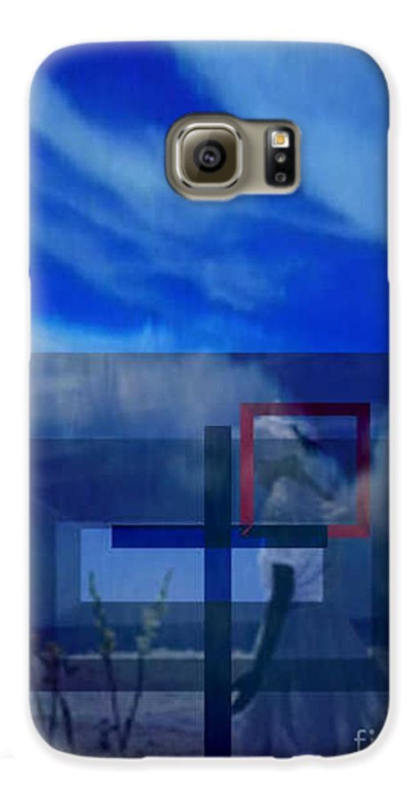 Inspirational Galaxy S6 Case featuring the digital art On Bended Knees by Brenda L Spencer