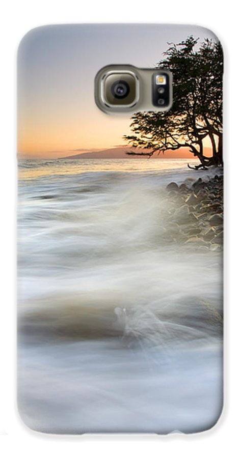 Sunset Galaxy S6 Case featuring the photograph One Against The Tides by Mike Dawson