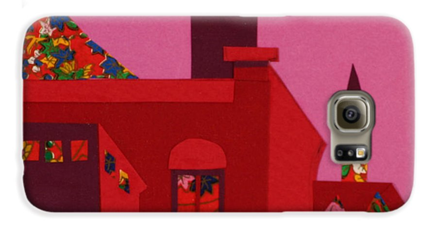 Opera House Galaxy S6 Case featuring the mixed media Opera House by Debra Bretton Robinson