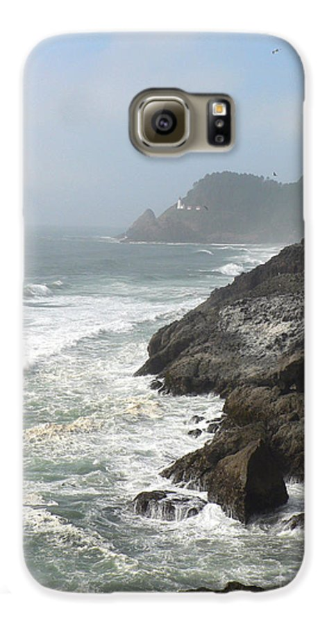 Pacific Galaxy S6 Case featuring the photograph Oregon Coast by Larry Keahey