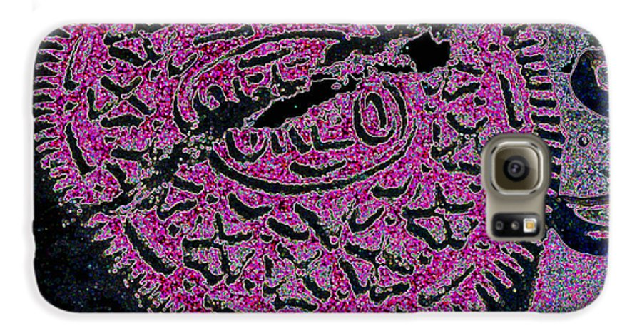 Pink Galaxy S6 Case featuring the photograph Oreo In Pink by Nancy Mueller