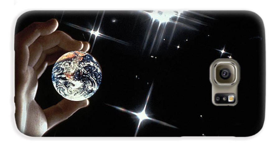Stars Galaxy S6 Case featuring the photograph Our Precious Planet by Carl Purcell