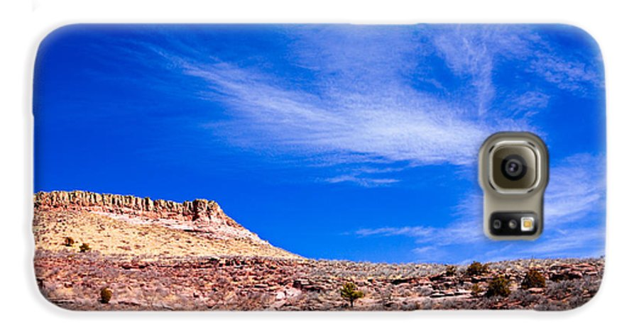 Red Galaxy S6 Case featuring the photograph Outside Lyons Colorado by Marilyn Hunt