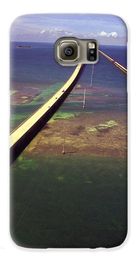 U.s. 1 Galaxy S6 Case featuring the photograph Overseas Highway by Carl Purcell