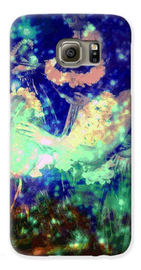 Tropical Interior Design Galaxy S6 Case featuring the photograph Pa by Kenneth Grzesik