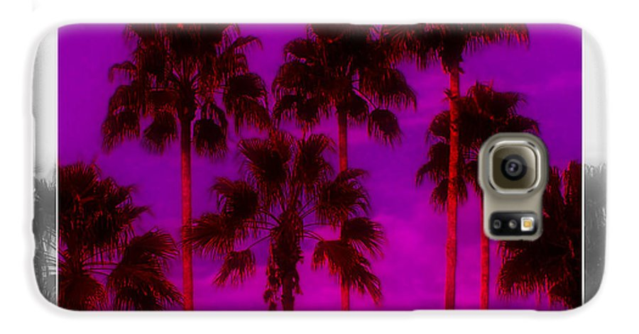 Palm Galaxy S6 Case featuring the photograph Palm Tree Heaven by Kenneth Krolikowski