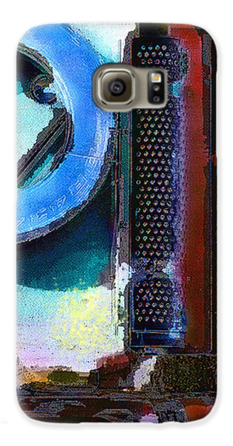 Abstract Galaxy S6 Case featuring the photograph panel one from Centrifuge by Steve Karol
