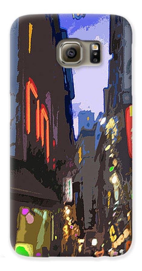 Paris Galaxy S6 Case featuring the photograph Paris Quartier Latin 01 by Yuriy Shevchuk
