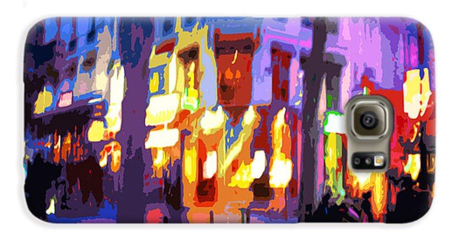 Paris Galaxy S6 Case featuring the photograph Paris Quartier Latin 02 by Yuriy Shevchuk