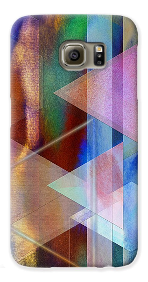 Pastoral Midnight Galaxy S6 Case featuring the digital art Pastoral Midnight by John Beck