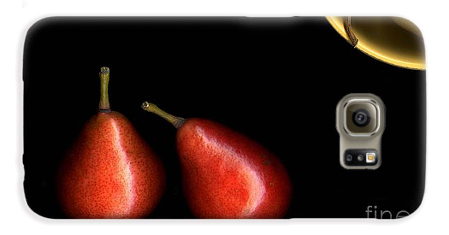 Pears Galaxy S6 Case featuring the photograph Pears And Bowl by Christian Slanec