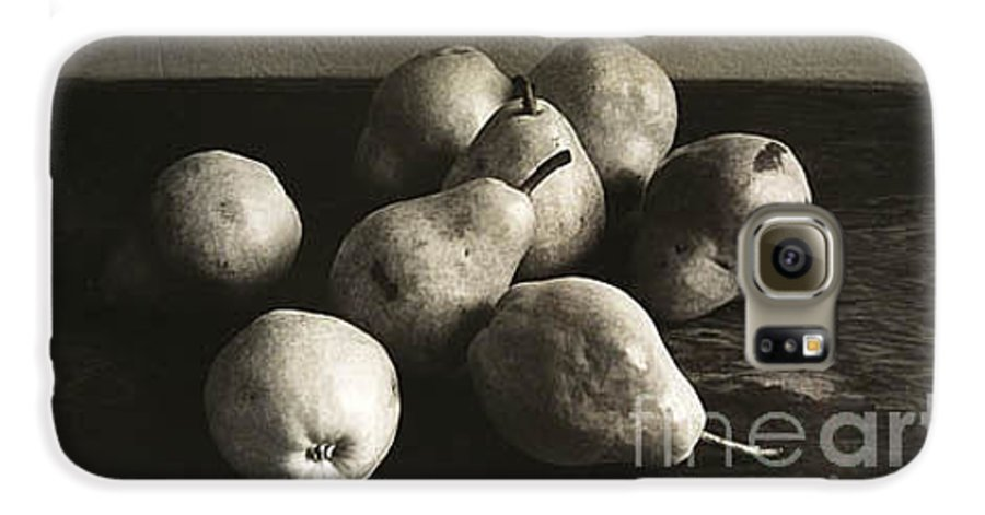 Pears Galaxy S6 Case featuring the photograph Pears by Michael Ziegler