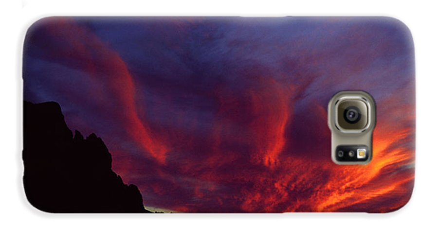Arizona Galaxy S6 Case featuring the photograph Phoenix Risen by Randy Oberg