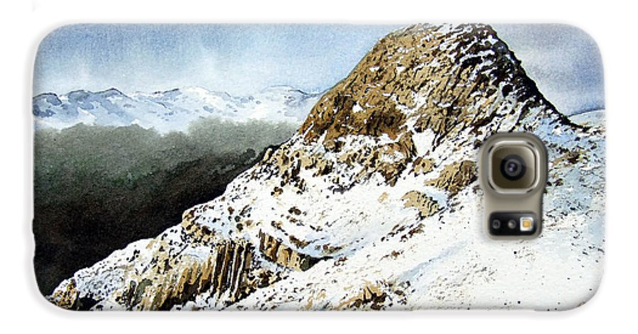 Pike O' Stickle Galaxy S6 Case featuring the painting Pike O' Stickle by Paul Dene Marlor