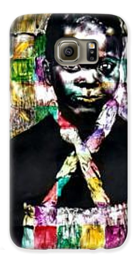 Portrait Galaxy S6 Case featuring the mixed media Precious by Chester Elmore