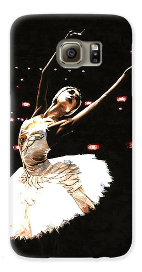 Prima Ballerina Galaxy S6 Case featuring the painting Prima Ballerina by Richard Young