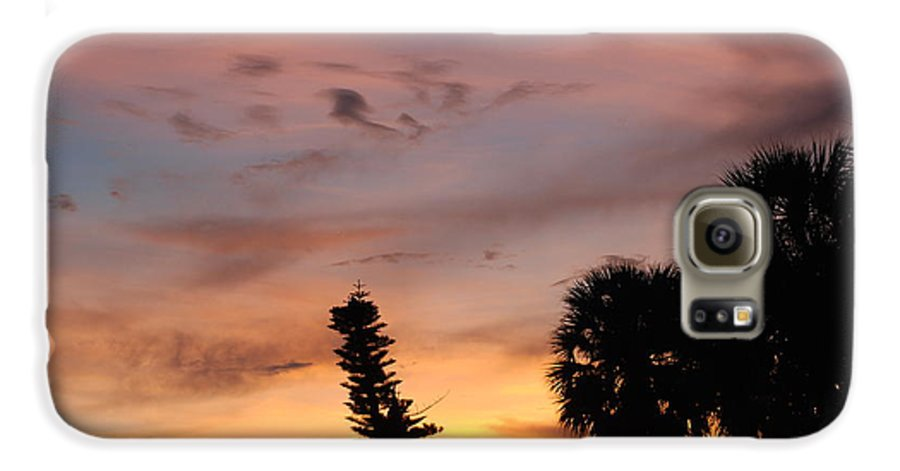 Sunset Galaxy S6 Case featuring the photograph Rainbow Sunset by Rob Hans