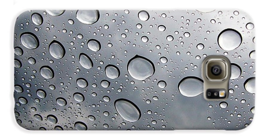 Rain Galaxy S6 Case featuring the photograph Raindrops by Kenna Westerman
