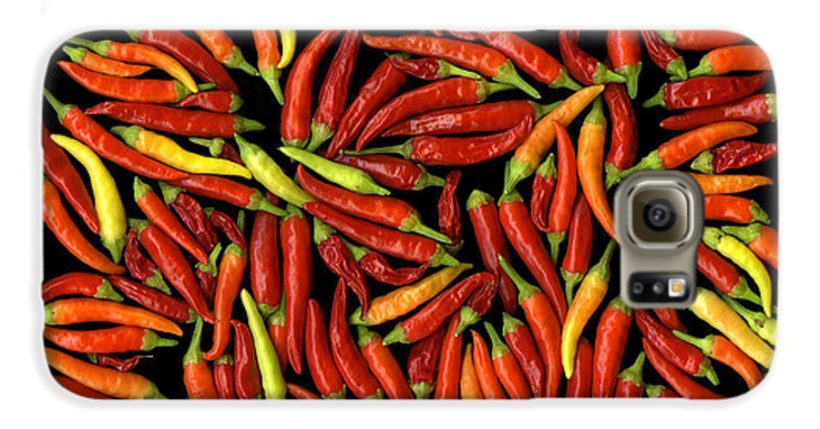 Color Galaxy S6 Case featuring the photograph Red Hots by Christian Slanec